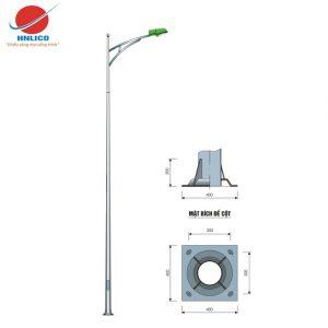 Cột đèn cao áp HN03-D