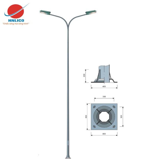 Cột đèn cao áp HN06-K