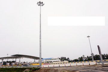 Xử lý sự cố của cột đèn pha 14m tại cảng Cái Rồng – Vân Đồn – Quảng Ninh