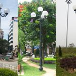 Cấu tạo cột đèn trang trí sân vườn