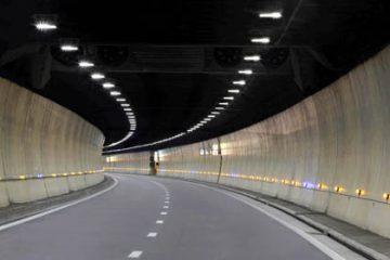 Chiếu sáng bằng đèn pha hầm đường bộ