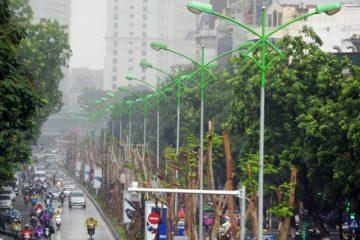 Cột đèn cao áp HN05 – HNLICO đơn vị chuyên sản xuất cột đèn cao áp