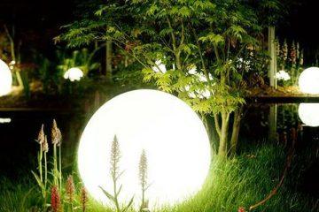 3 lưu ý để sử dụng đèn tròn trang trí sân vườn đẹp nhất
