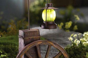 Đèn sân vườn đẹp, trang trí vườn, trang trí vườn nhà
