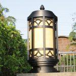 Những yếu tố cần lưu ý khi lắp đèn trang trí trụ cổng